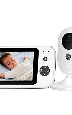 povoljno -1 mp baby monitor cmos / vodootporan fotoaparat noćni vid 5 m. Zumiranje piksela hd hd video baby monitor s 5 zaslona i daljinskim upravljačem kamera baby video s jasnijim noćnim prikazima