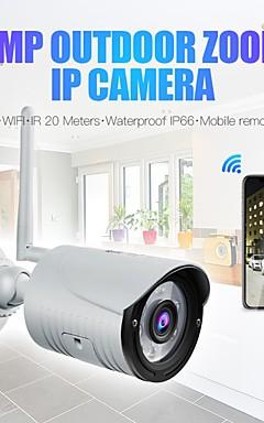 povoljno -wanscam k22 bežični 1080p 2mp ip kamera 3.6mm objektiv 6kom omogućuje podršku 3x digitalnog zumiranja (zumiranje uvećane u aplikaciji) noćno vidjenje na otvorenom ip66 vodootporan audio noćni vid dalj