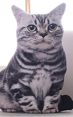 رخيصةأون -10inch والقط الرمادي الحيوانات المحنطة أفخم لعبة
