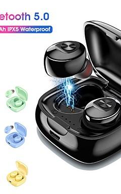 povoljno -litbest tws 5.0 bluetooth mini bežične slušalice slušalice sport 3d stereo slušalice s dvostrukim mikrofonom