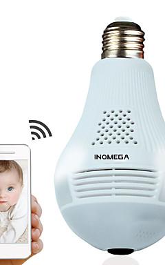 povoljno -inqmega 960p oblak bežična ip kamera žarulja svjetlo panoramski sigurnosni dom nadzor 360 stupnjeva 3d vr cctv wifi kamera