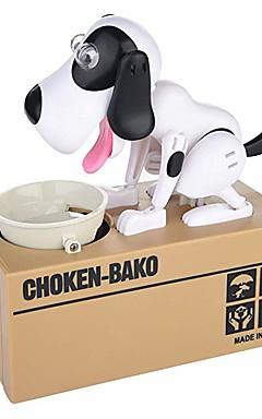 ieftine -1 pcs Choken Bako Bank Puşculiţă Salvarea casetei de bani Munching Toy ABS Caini Novelty Pentru copii Adulți Băieți Fete Jucarii Cadouri