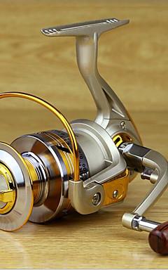 cheap -Fishing Reel Bearing Spinning Reel 5.2:1 Gear Ratio+10 Ball Bearings Hand Orientation Exchangable Sea Fishing / Freshwater Fishing / Lure Fishing - MK4000 / General Fishing / Trolling & Boat Fishing