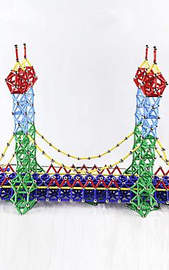 رخيصةأون -103 pcs ألعاب المغناطيس مكعبات مغناطيسية العصي المغناطيسية البلاط المغناطيسي أحجار البناء المعدنية بلاستيك حداثة للأطفال / للبالغين للصبيان للفتيات ألعاب هدية