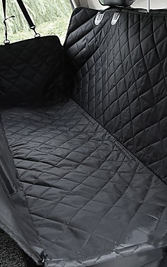 رخيصةأون -كلاب قطط حيوانات أليفة صغيرة سيارة مقعد الغطاء حيوانات أليفة حاملات قابل للتعديل متنفس السفر كلاسيكي أسود / قماش أكسفورد