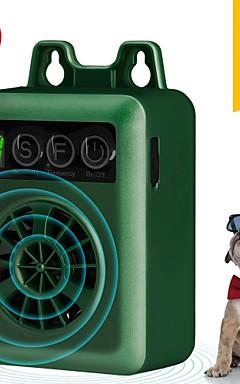 رخيصةأون -كلب جهاز التحكم النباح بالموجات ترقية قابلة الرقمية التحكم النباح في مكافحة نباح الكلب النباح السيطرة الصوتية رادع النكات كاتم الصوت وقف نباح