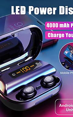 povoljno -litbest v11 pro tws prave bežične ušice s 4000mah power bank led zaslonom bluetooth 5.0 stereo slušalice dual driveri ipx7 vodootporne sportske fitnes slušalice za android ios smartphone