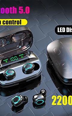 povoljno -litbest s11 tws istinske bežične ušice bluetooth 5.0 slušalice 2200mah mobilne snage za pametni telefon zaslon osjetljiv na dodir touch control ipx5 vodootporne sportske slušalice za fitness