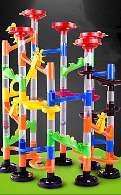 ieftine -105 pcs Construcția cursei de marmură Seturi de marmura Traseu de Marmură ABS STEAM jucărie Creative Novelty Reparații Interacțiunea părinte-copil ca dar pentru copii Educational Pentru copii Băieți