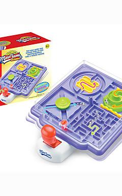 ieftine -1 pcs Jocuri Puzzle de masă Caseta de puzzle cu labirint 3D Labirint mingea Puzzle Ball Plastic Interacțiunea familială Pentru copii Adulți Favoare de petrecere pentru Cadourile copilului