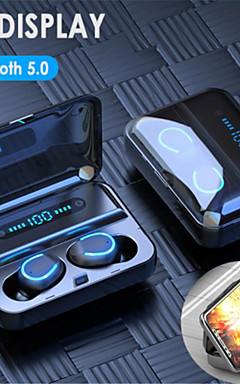 povoljno -f9-5 tws 5.0 touch bluetooth slušalice hd stereo handsfree bežične slušalice za poslovne igračke slušalice s led prikazanim slušalicama