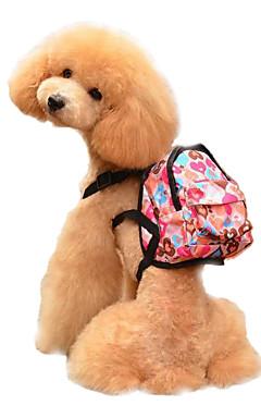 ieftine -Câine Hamuri rucsac Ajustabile / Retractabil Model Desene Animate Burete Albastru Roz Deschis