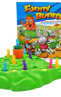 ieftine -1 pcs Jocuri de masă Plastic Iepuras haios Jucarii de decompresie Interacțiunea familială 2 jucători Pentru copii Adulți Jucarii Cadouri