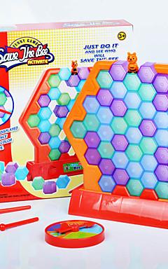 ieftine -1 pcs Salvați albina Joc de perete Plastic Albină Jucarii de decompresie Interacțiunea familială 2 jucători Pentru copii Adulți Jucarii Cadouri