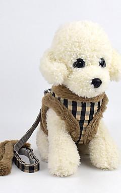 ieftine -Câine Hamuri textil Maro