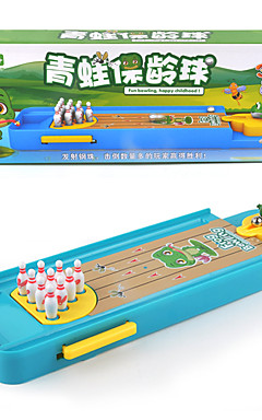 ieftine -1 pcs Jocuri Bowling Joc Arcade de masă Jocuri de birou Plastic Stres și anxietate relief Interacțiunea familială Ejectarea degetelor Broască Pentru copii Adulți Favoare de petrecere pentru Cadourile