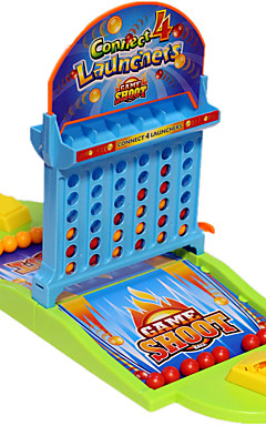 ieftine -1 pcs Joc Arcade de masă Joc de împușcare a baschetului Jocuri de birou Plastic Interacțiunea familială 2 jucători Ejectarea degetelor Basketball Pentru copii Adulți Favoare de petrecere pentru