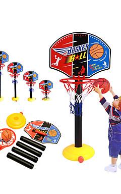 ieftine -Jucarii de baschet Cos de baschet Jucărie de baschet Pumpa Set baschet baschet Mini Portabil Reglări Înălțime Ajustabil Sporturi Exterior Interior Plastice 20-45 inch 14 ani + Băieți Fete Baieti si