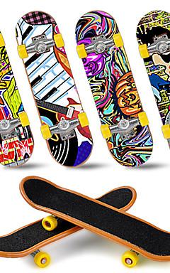 ieftine -12/25 pcs Skateboard-uri cu degetele Mini tastaturi Jucării Deget Plastic Birouri pentru birou Cool cu roți și instrumente de înlocuire Patină Pentru copii Adolescent Favoare de petrecere pentru
