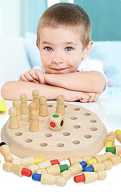 ieftine -Jocuri de masă Jucării Educaționale De lemn Joc de familie Interacțiunea părinte-copil Interacțiunea familială Divertisment la domiciliu Copii Copilului Baieti si fete Jucarii Cadouri