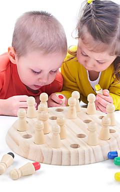 ieftine -Jocuri de masă Jucării Educaționale De lemn Interacțiunea părinte-copil Interacțiunea familială Divertisment la domiciliu Copii Baieti si fete Jucarii Cadouri