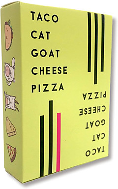 ieftine -Jocuri de masă Joc Carduri Pizza cu brânză de capră Taco Cat Interacțiunea părinte-copil Interacțiunea familială Pentru copii Adulți Toate Baieti si fete Jucarii Cadouri