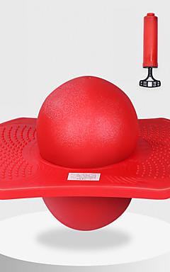 ieftine -Balul Pogo Jump Trick Bounce Board Plastic Echilibru Cu Pompă Sporturi Exterior Pentru copii Adulți Favoare de petrecere pentru Cadourile copilului