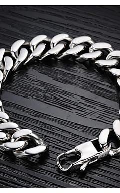 ieftine -Bărbați Brățări cu Lanț & Legături Clasic Serie de totemuri Stilat Oțel titan Bijuterii brățară Argintiu Pentru Cadou Festival