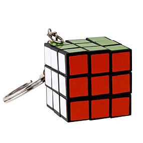 رخيصةأون ألعاب تعليمية-3*3*3 مكعبات سحرية مفتاح سلسلة صغير هدية جميل بلاستيك 1/5/10 pcs قطع للبالغين الأطفال للصبيان للفتيات ألعاب هدية