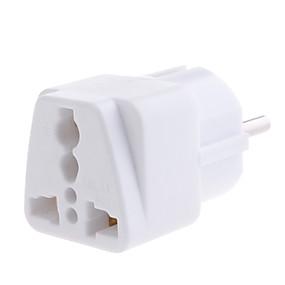 olcso Elektronikai kiegészítők-yongwei wp-9 univerzális európai hálózati csatlakozódugó fehér