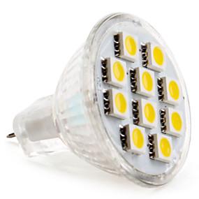 olcso LeXing-2 W LED szpotlámpák 2800 lm GU4(MR11) MR11 10 LED gyöngyök SMD 5050 Meleg fehér Hideg fehér 12 V