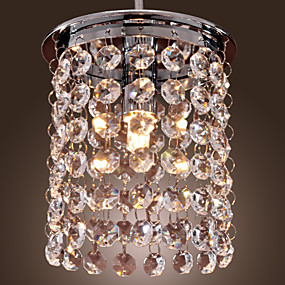 olcso Függőlámpák-Mini Függőlámpák Süllyesztett lámpa Galvanizált Kristály, Mini stílus 110-120 V / 220-240 V Az izzó tartozék / G9