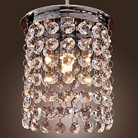 "ieftine Lumini Pandativ-12(5"") Cristal / Stil Minimalist Lumini pandantiv Mini Galvanizat Modern contemporan 110-120V / 220-240V"