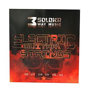 olcso Hangszerek és tartozékok-katona - (009-042) acél elektromos gitár húrok