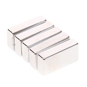 povoljno Igračke i razonoda-5 pcs 20*10*5mm Magnetne igračke Kocke za slaganje Snažni magneti Magnetska igračka Puzzle Cube Magnet S magnetom Dječji / Odrasli Dječaci Djevojčice Igračke za kućne ljubimce Poklon