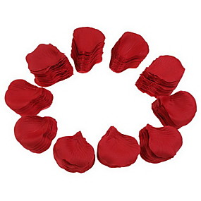 halpa Kodin sisustus-Häät Party Red Silk Rose Petals (2000-Pack)