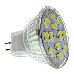 olcso US Raktár-2 W LED szpotlámpák 250-300 lm GU4(MR11) MR11 12 LED gyöngyök SMD 5730 Természetes fehér 12 V