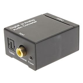 olcso Adapterek-Digitális-analóg átalakító RCA F / F p/n007