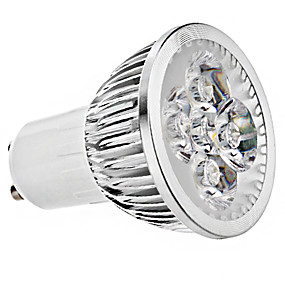ieftine Spoturi LED-breung 1 buc 4w gu10 lumina luminoasa cu led lumina ac85-265v alb cald lumina naturala