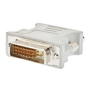 olcso Elektronikai kiegészítők-DVI 24 +1 Férfi Nő VGA adapter fehér