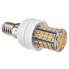 olcso LeXing-1db 3.5 W LED kukorica izzók 350-450 lm E14 E26 / E27 60 LED gyöngyök Meleg fehér Természetes fehér 220-240 V