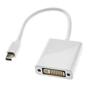 olcso Kijelző port-0.3m 1FT villám férfi DVI 24 +5 female kábel fehér MacBook Air / MacBook Pro / iMac / Mac mini