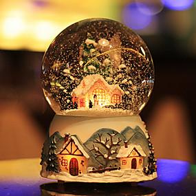 رخيصةأون ديكورات خشب-الكرات زخرفة, زجاج تصميم خاص حديث تصميم خاص إلى الديكورات المنزلية الهدايا 1PC