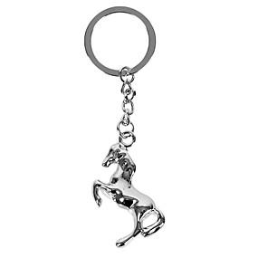 olcso Egyedi minták és ajándékok-személyre szabott gravírozott ajándék kreatív ló alakú kulcstartó 1 betű