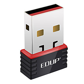olcso Hálózatok-EDUP ep-n8508 802.11b/g/n 150Mbps vezeték nélküli USB adapter