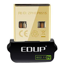 olcso Hálózatok-EDUP EP-N8508GS IEEE802.11b/g/n 150Mbps USB vezeték nélküli hálózati adapter adapter