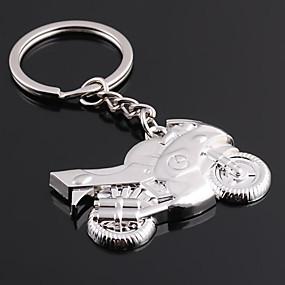 olcso Egyedi minták és ajándékok-Személyre szabott gravírozott ajándéktárgyak Motorkerékpár alakú kulcstartó