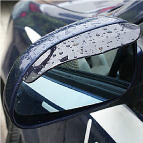 olcso Rear View Monitor-2X autó visszapillantó tükör esővíz szemöldök Cover Side Shield