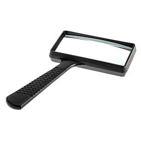 ieftine Lupe-6X dreptunghi Handheld lupă Lupa
