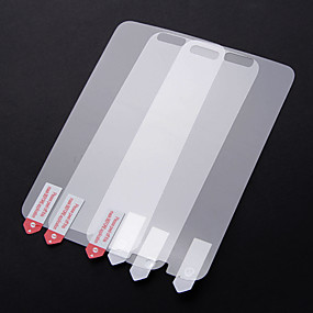 Недорогие Чехлы и кейсы для Galaxy S-Защитная плёнка для экрана для Samsung Galaxy S5 PVC Защитная пленка для экрана Против отпечатков пальцев